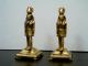Antiguedades-Vendo-Dos-Esfigies-En-Bronce-Siglo-XX