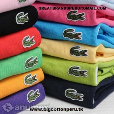 POLOS LACOSTE ABERCROMBIE HOLLISTER x mayor - Imagen 1