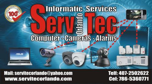 Security System Cameras Alarms wwwservitecor - Imagen 1