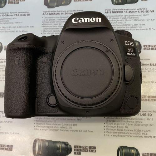 The Canon EOS 5D Mark IV camera body brand ne - Imagen 1